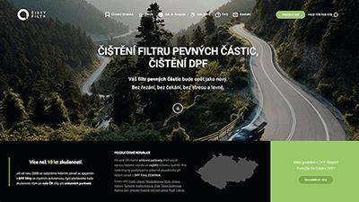 tvorba webové stráneky pro cistyfiltr