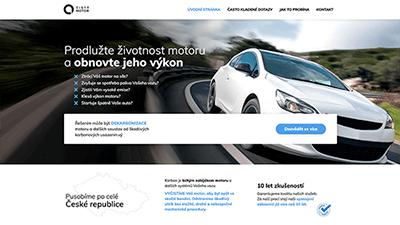tvorba webové stráneky pro cistymotor