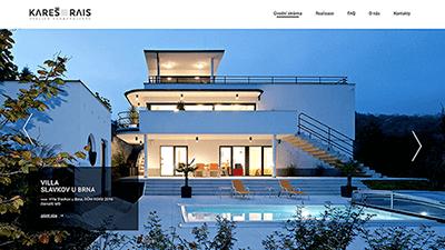 tvorba webové stráneky pro karesrais
