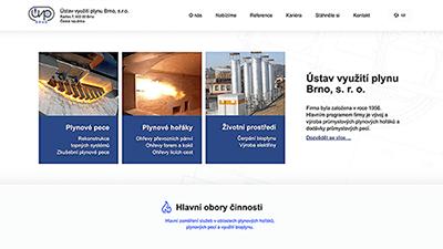 tvorba webové stráneky pro UVP